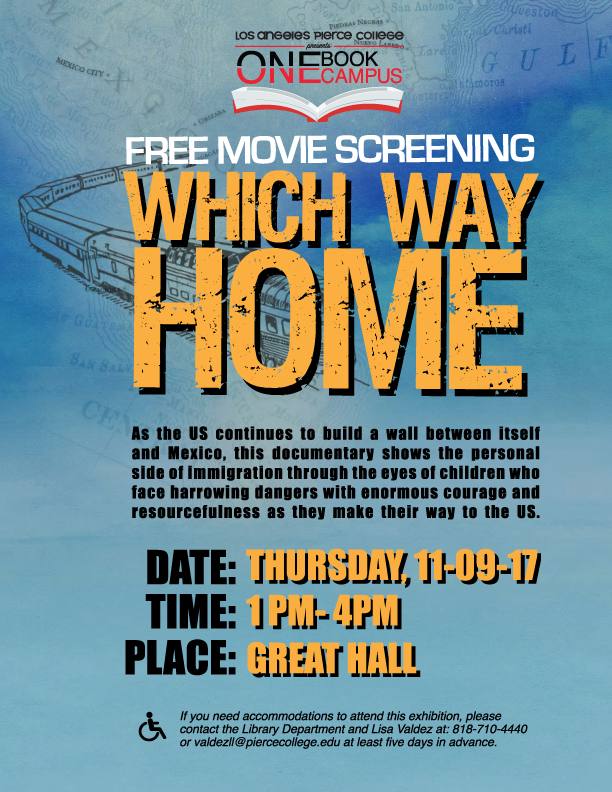 Which Way Home Movie Screening Flyer