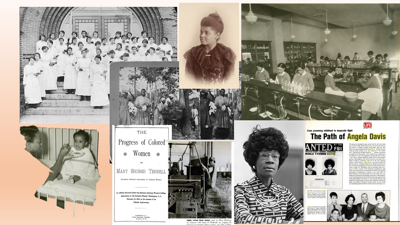 IMAGES OF BLACK WOMEN IN HISTORY