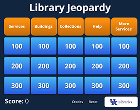 Library Jeopardy