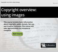 Copyright Overview: Using Images