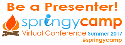 be a presenter at Springy Camp 2017