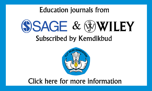 Education journals subscribed by KEMDIKBUD