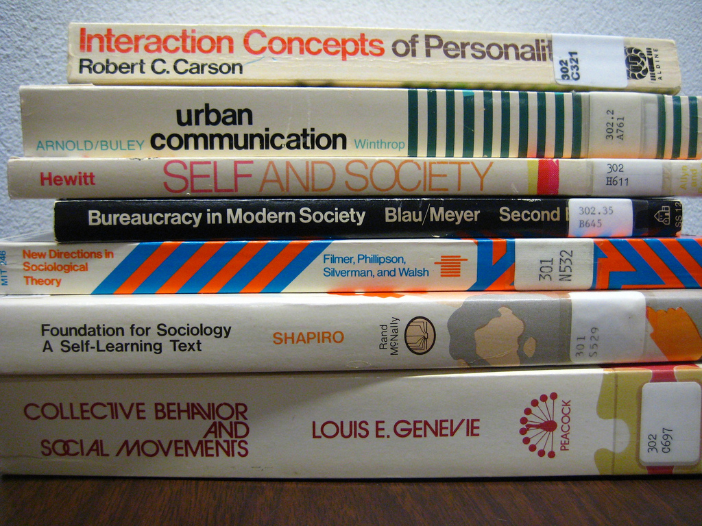 sociology textbooks image