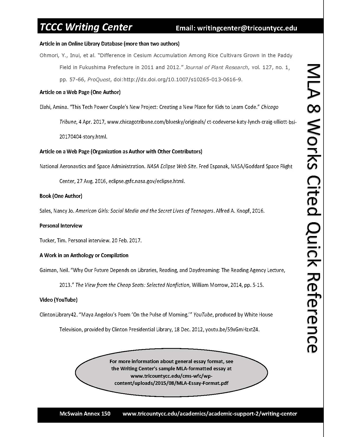 Works Cited page 2- Downloadable copy available on page