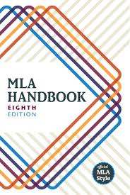 MLA 8 book cover