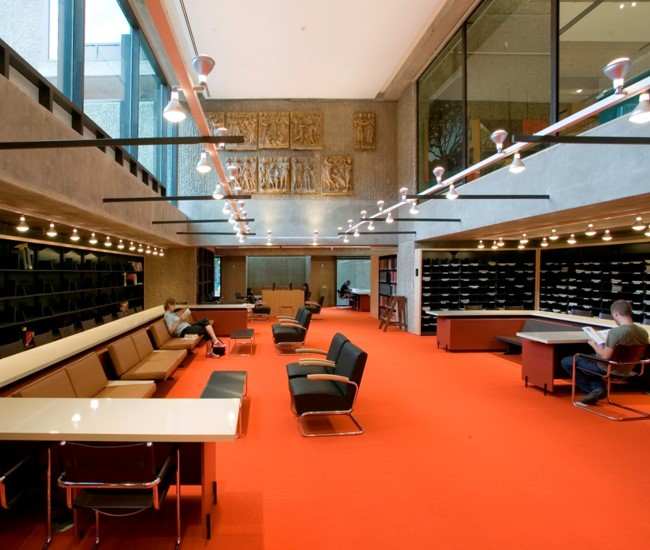reading room at Arts Library