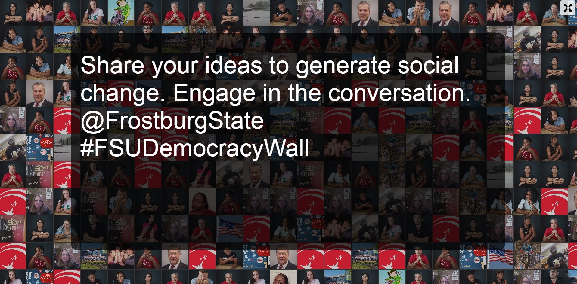 Share your ideas to generate social change. Engage