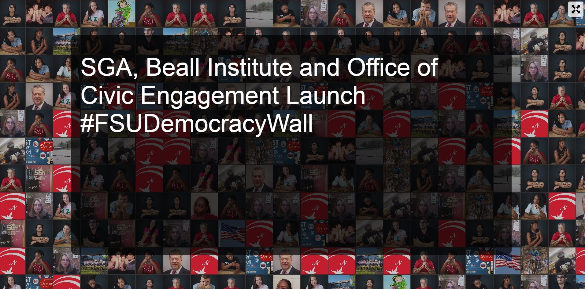 SGA, Beall Institute & Ofc of Civic Engagement