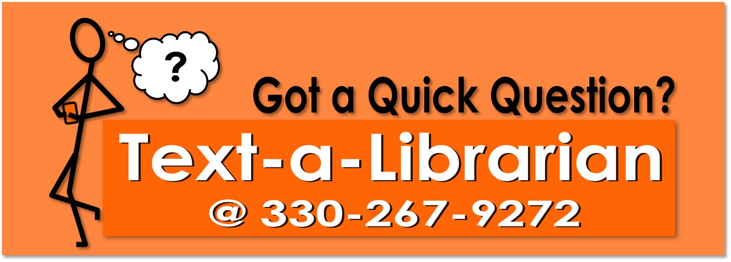 Text a Librarian for help