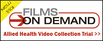 Films on Demand Allied Health Videos trial