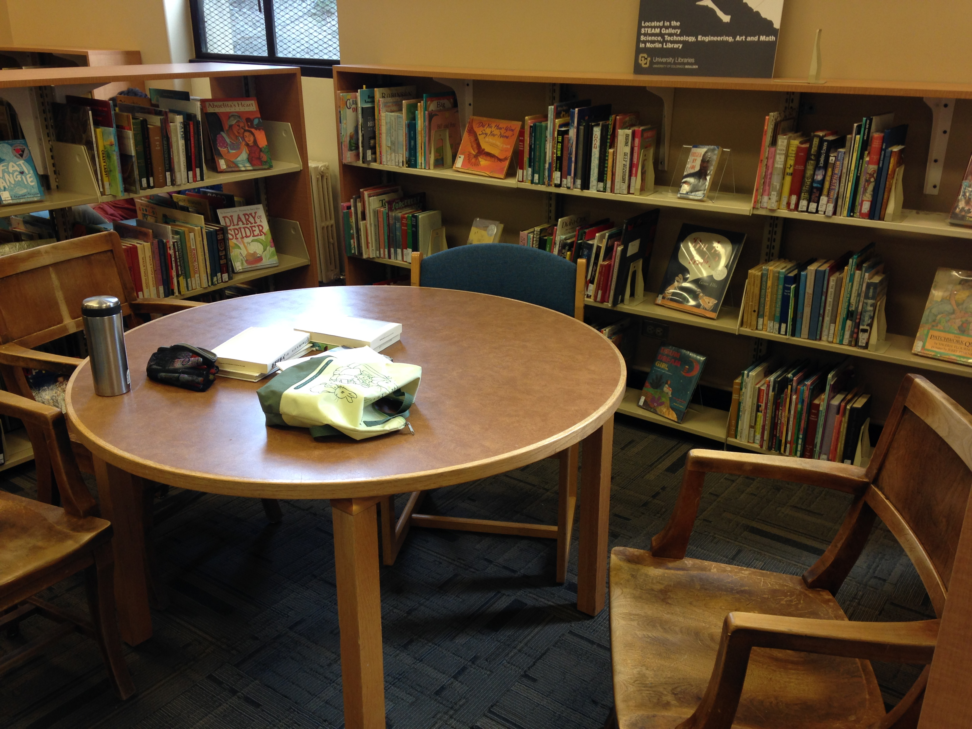 Children's and Young Adult Collection in Norlin Library