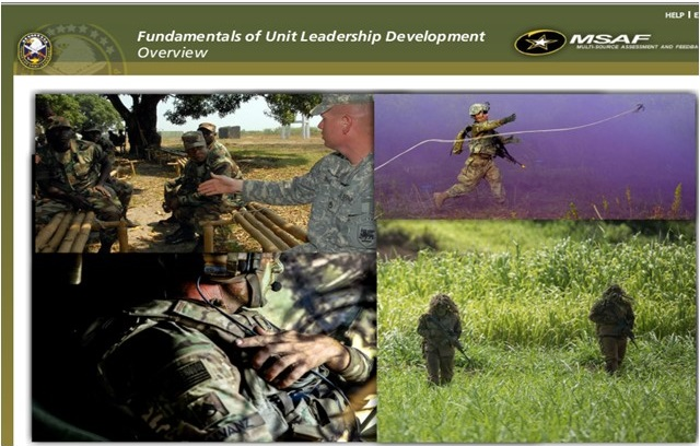 Fundamentals of Unit Leadership Development