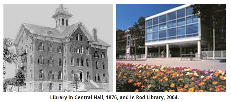 History about the University of Northern Iowa.  History of buildings, university presidents, and the university itself.