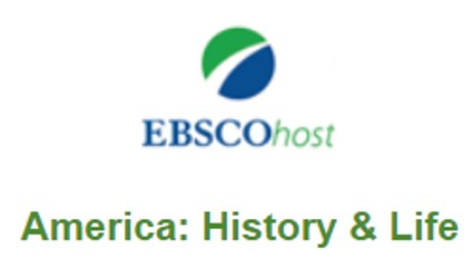 America History & Life is an index for secondary source articles written by historians.