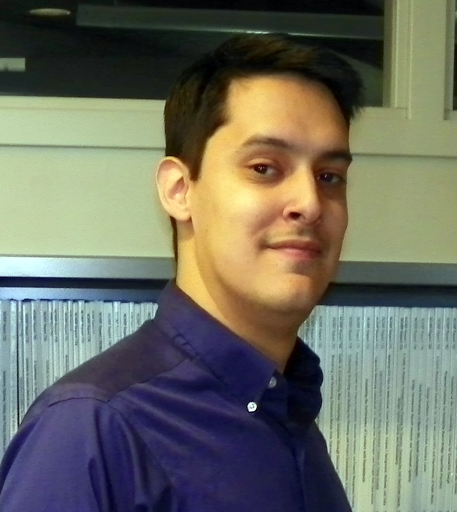 Photo of Librarian Michael Molani