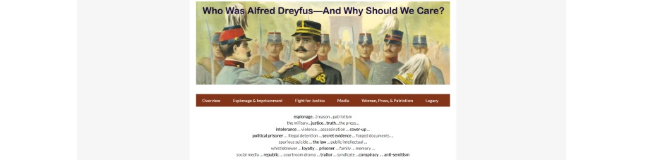 Who Was Alfred Dreyfus? - A Library Special Collections Project
