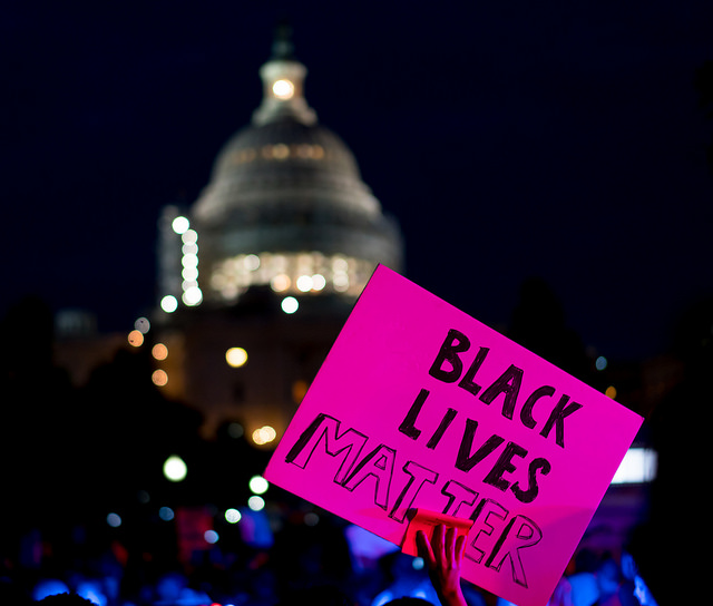 Black Lives Matter Rally from the White House to the Capitol, July 8, 2016