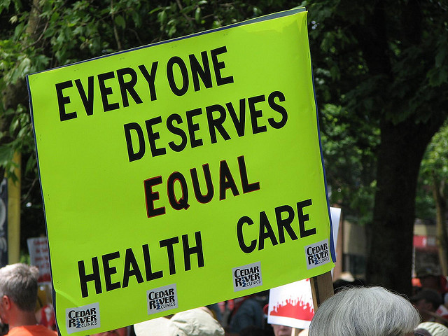 "May 30 (2009) Health Care Rally - ""Everyone Deserves Equal Health Care"""