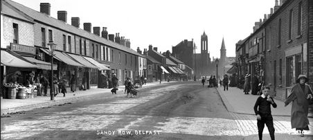Belfast, ca. 1910. Image from the National Archives of Ireland