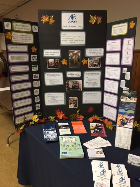 Copley Hospital National Medical Librarians Month