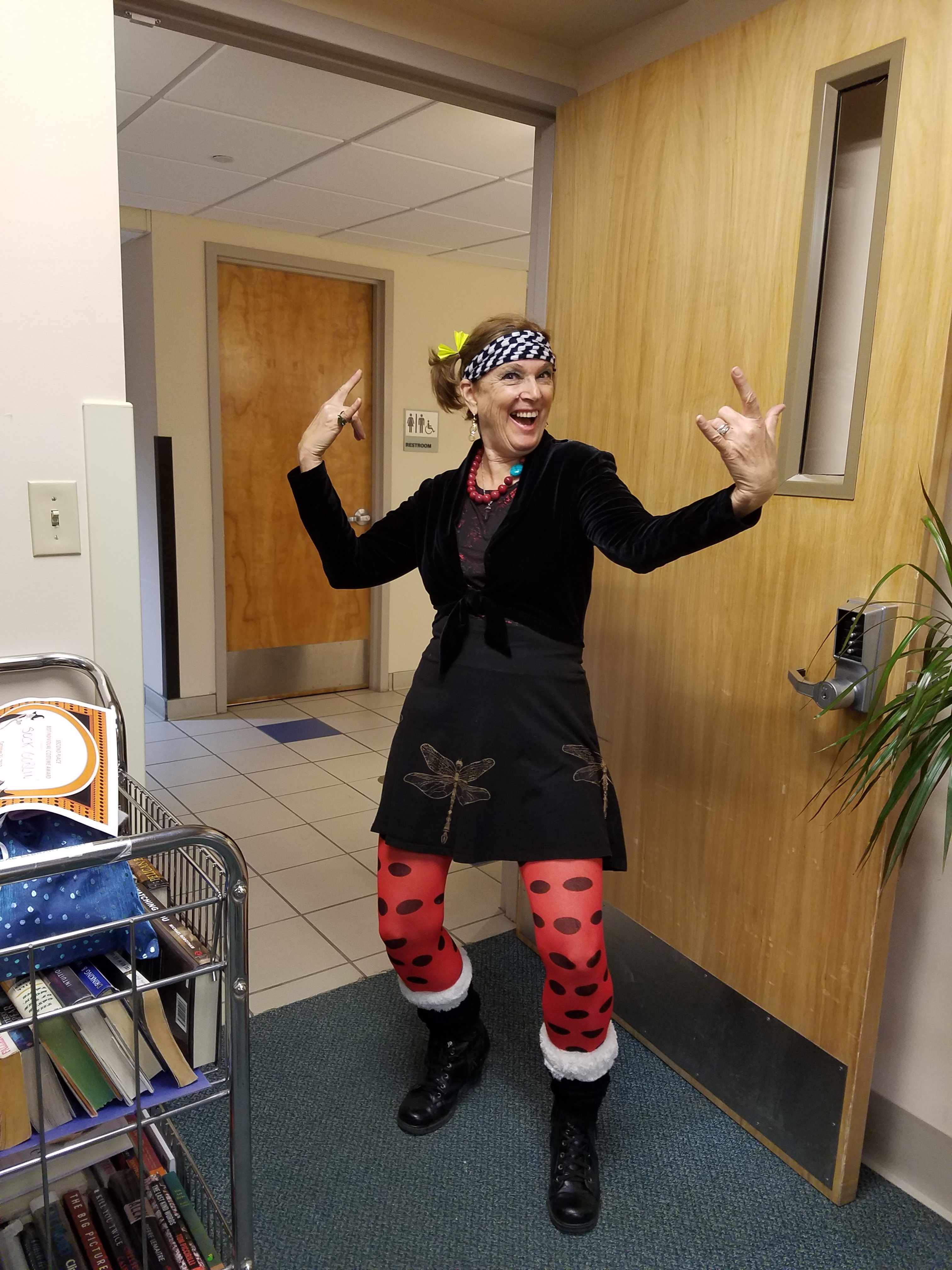 Stacy Wein  - Halloween at Copley Hospital