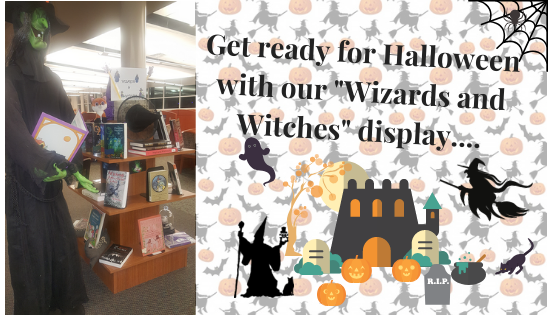 witches and wizards display