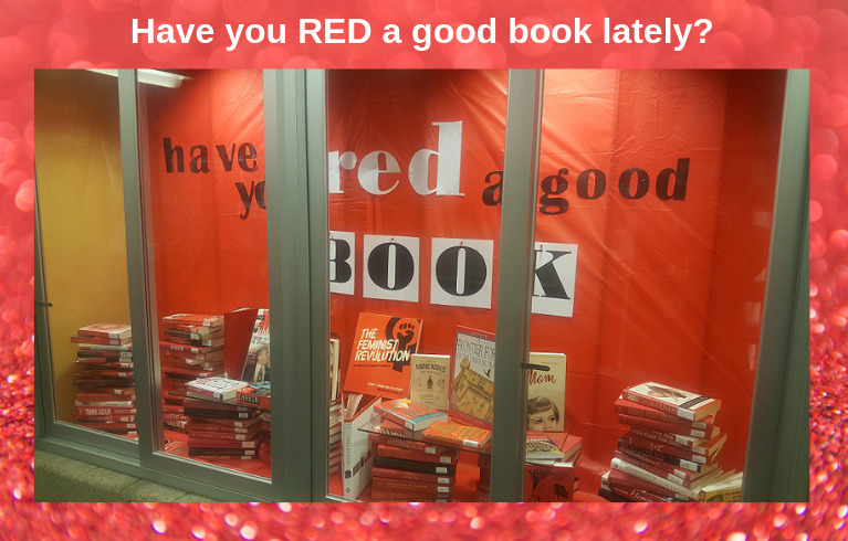 have you RED a good book display