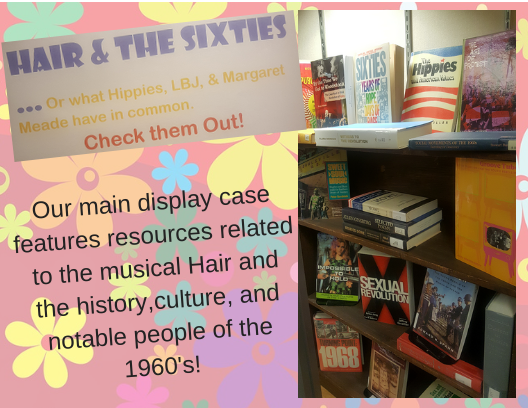 hair and the 60s display