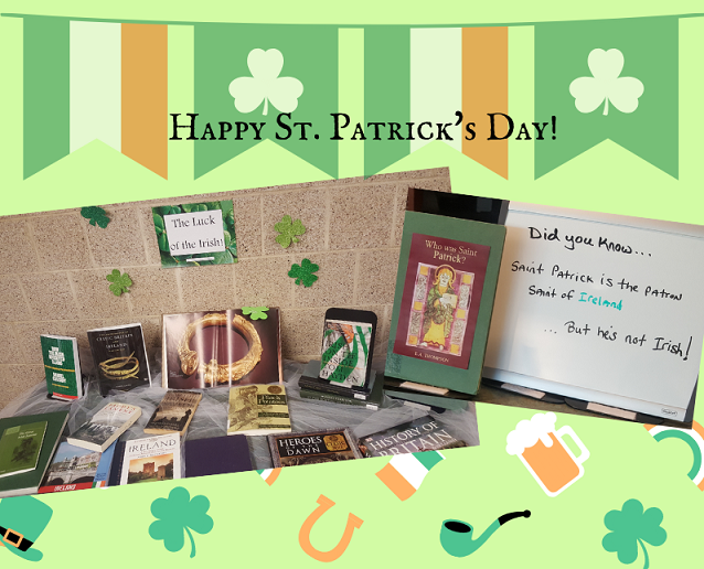 st patrick's day display
