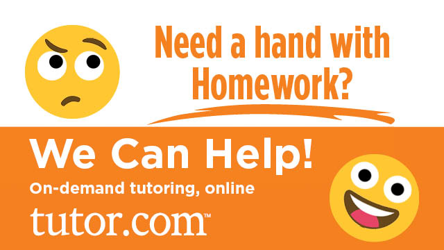 Free online tutoring with Tutor.com