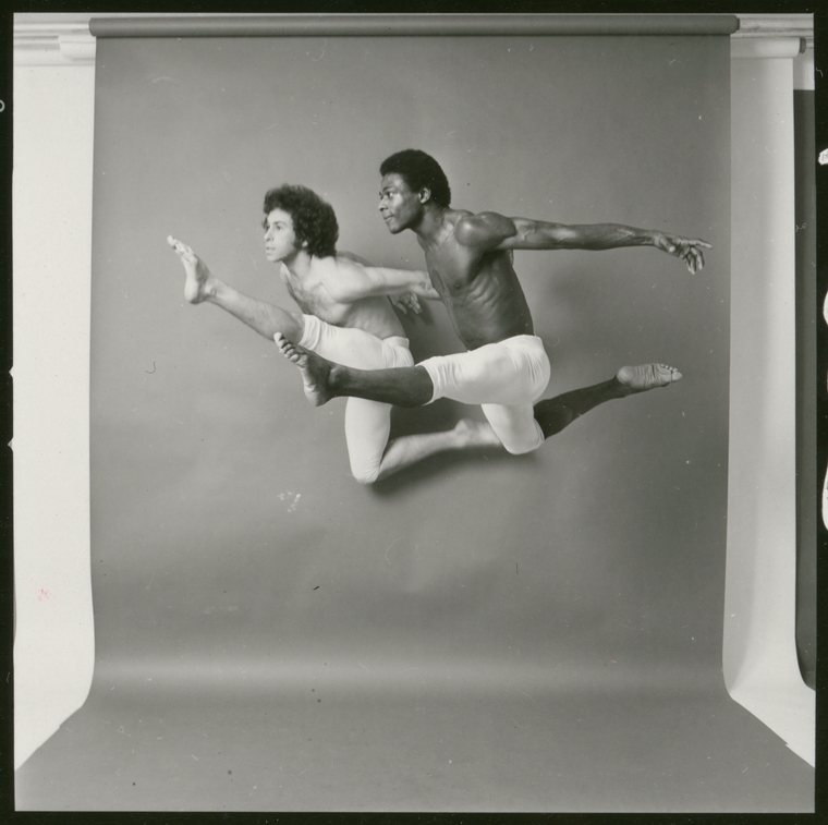Alvin Ailey dancers, Kenny Pearl and unidentified