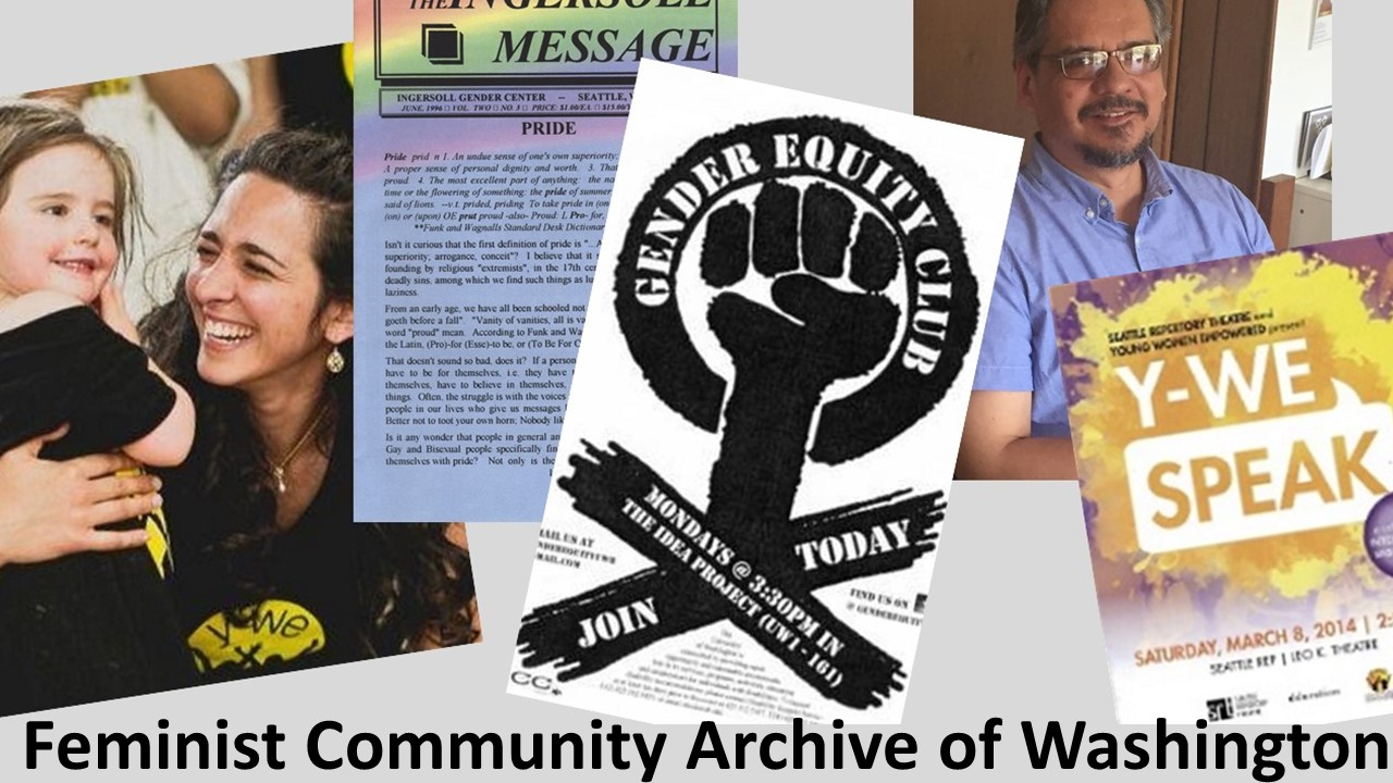 Feminist Community Archive of Washington Graphic