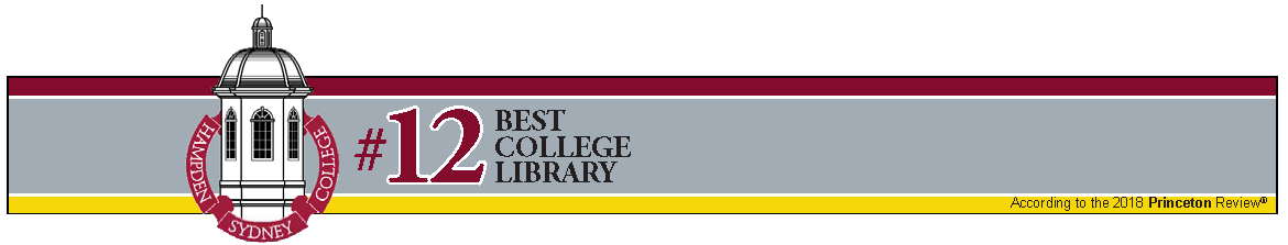 Bortz Library is number 12 in Best College Library according to 2018 Princeton Review
