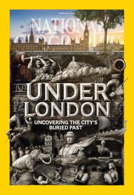 National Geographic: Under London issue