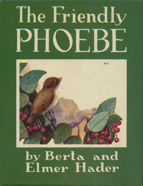 book cover image for The Friendly Phoebe