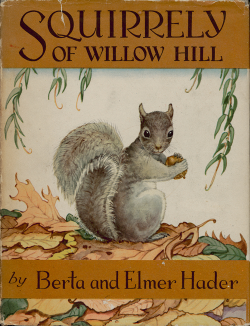 book cover image for Squirrely of Willow Hill