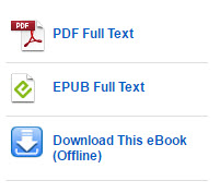 Ebooks may come in PDF or Epub formats or they may be downloaded to your computer or mobile device for offline reading.
