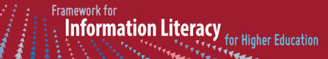 Framework for Information Literacy for Higher Education banner image