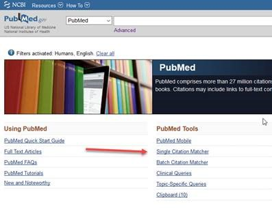 PubMed Home Page