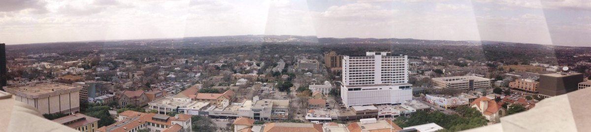 Western view of Austin