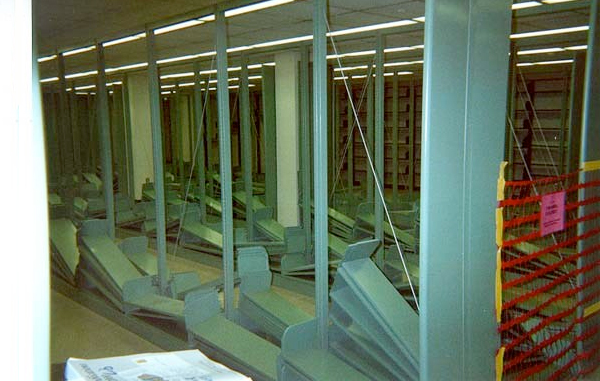 These photos were taken during renovation in 2001.