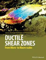 Cover image of Ductile Shear Zones