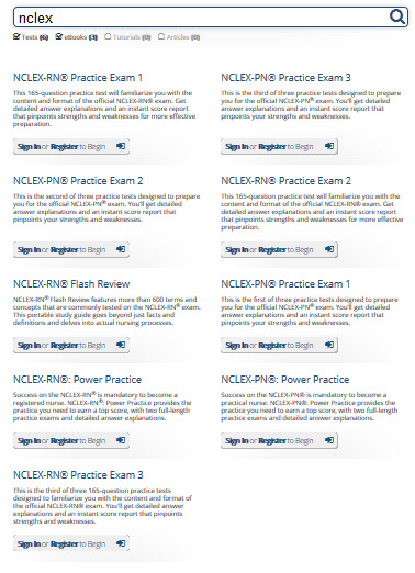 NCLEX results graphic