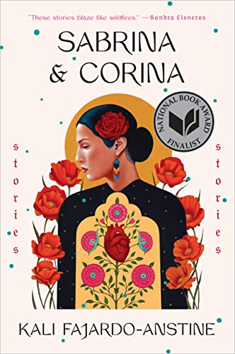 Book jacket for Sabrina and Corina depicting female character