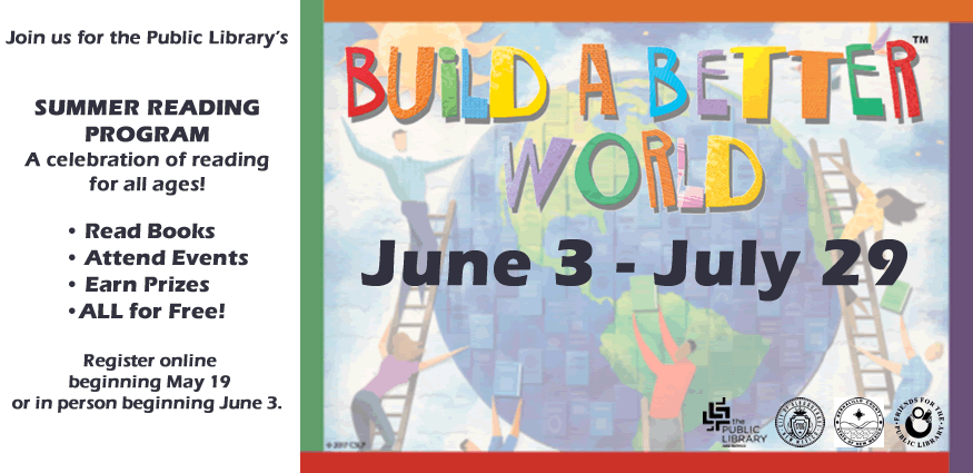 Build a Better World Summer Reading Program 2017