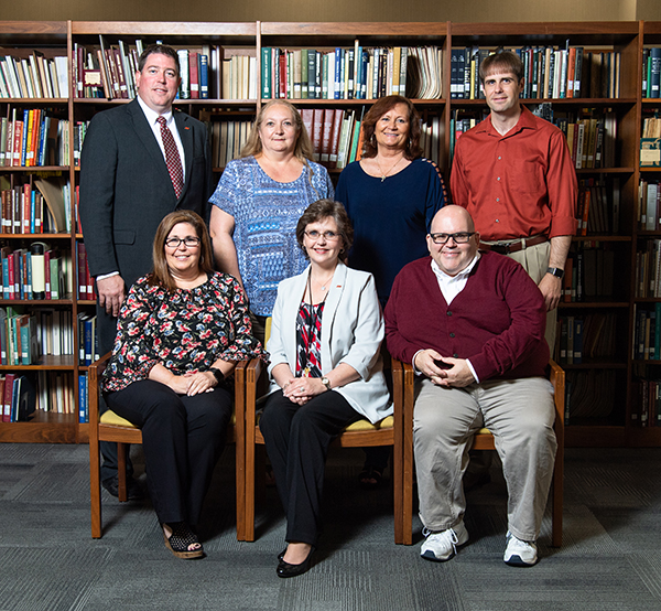 Picture of JSU LIbrary Administrative Staff