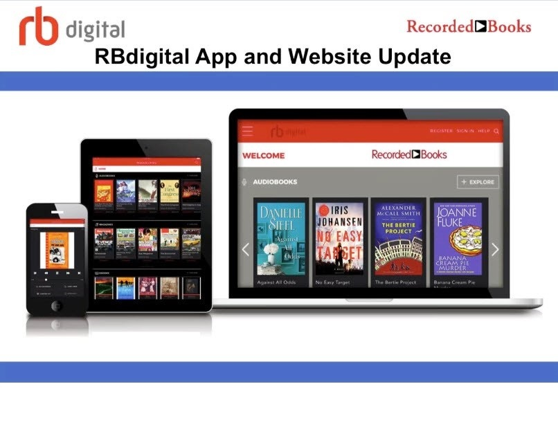 Listen to RBdigital eAudiobooks  on your devices