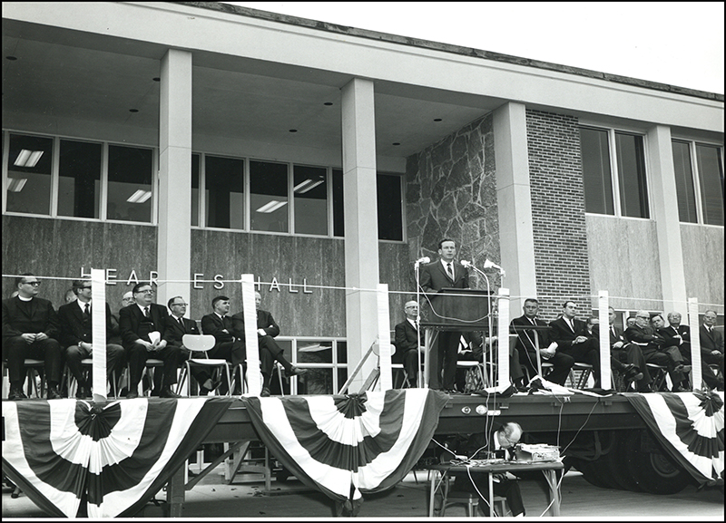 1967 - Academic Building Dedication,establishing a state college (that would become MSSU)
