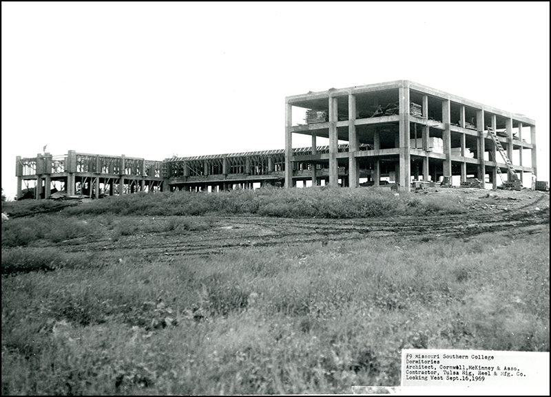 1969 - McCormick Hall Construction