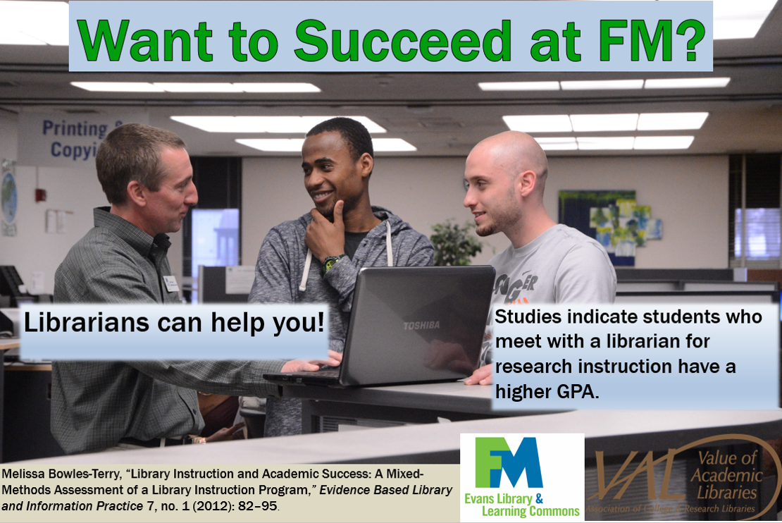 Succeeding at FM - Librarians Can Help